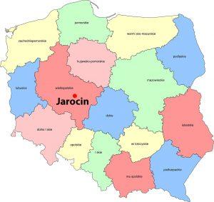 Mapa jarocin